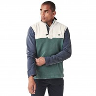 Crew Clothing Colour Block Padstow Sweatshirt