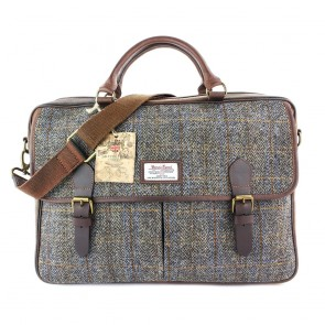 Harris Tweed Carloway Tweed Briefcase