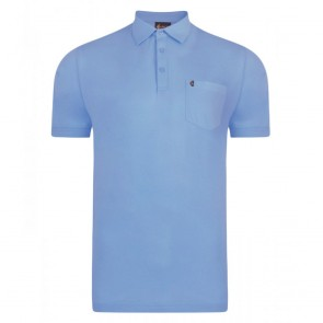 Gabicci Z05 SS19 Seasonal Plain Polo Shirt - Portofino