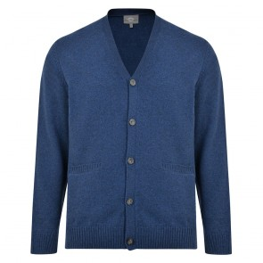 Peter Gribby Lambswool Cardigan With Pockets