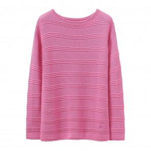 Crew Clothing Womens Salcombe Jumper - Pink